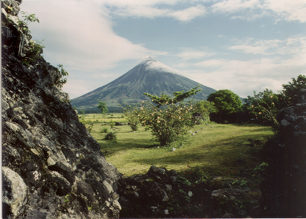 Mt. Mayon Volcano in 1984